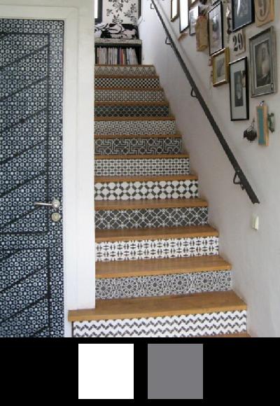 Les escaliers - Nuancier 4