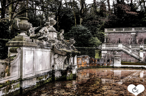Les jardins du château de la roseraie à St Adresse