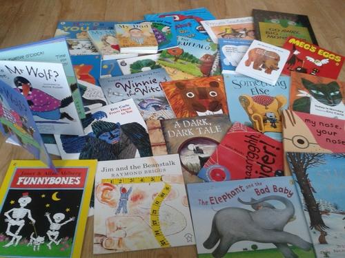 Série de livres en anglais