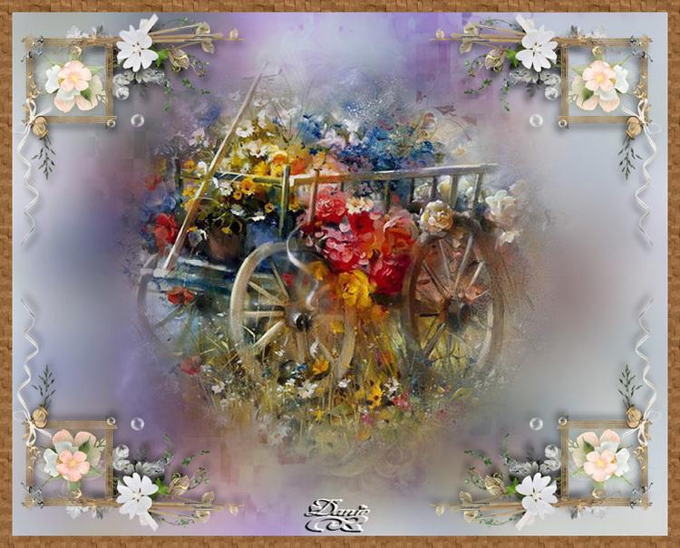 08 Le chariot de fleurs