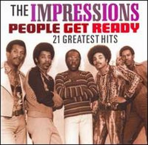 """2008 : Album CD """" People Get Ready : 21 Greatest Hits """""""