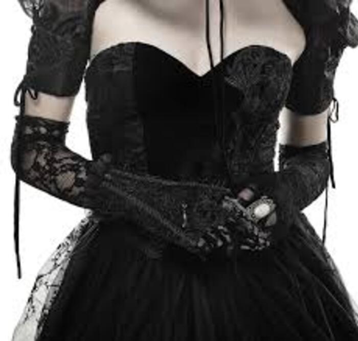 Les goths aiment la dentelle