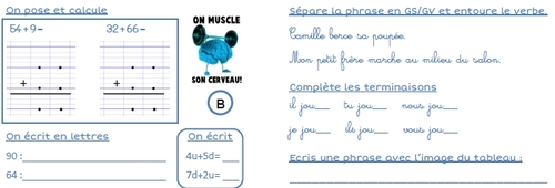 On muscle son cerveau