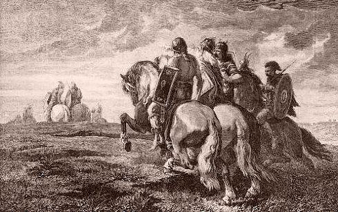 Les grandes invasions barbares aux IVe et Ve siècles
