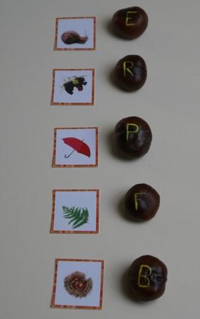 Atelier vocabulaire automne