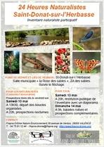 Les 24 heures naturalistes à Saint-Donat