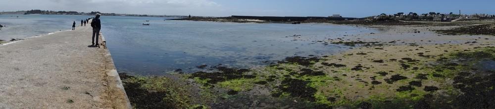 Panoramiques sur l'île de Batz...