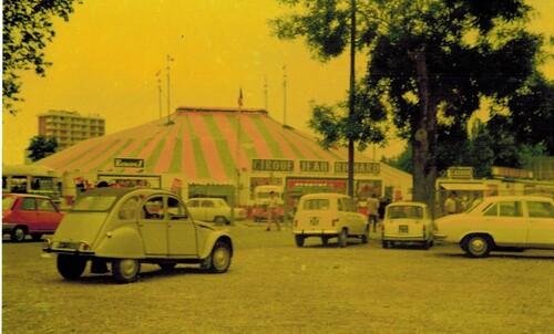 le cirque Jean Richard, années 70 ( archives Raymond Marti)