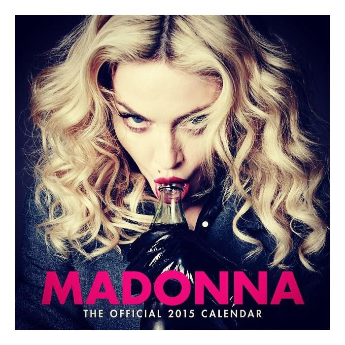 Madonna Official 2015 Calendar