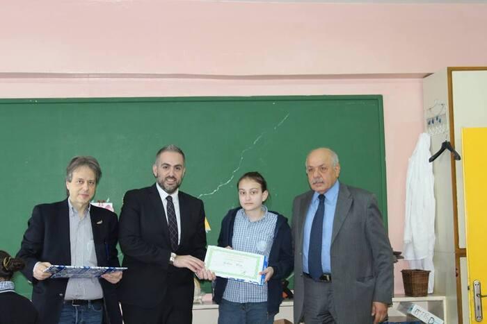 Les lauréats du concours de dessin Fabriano.