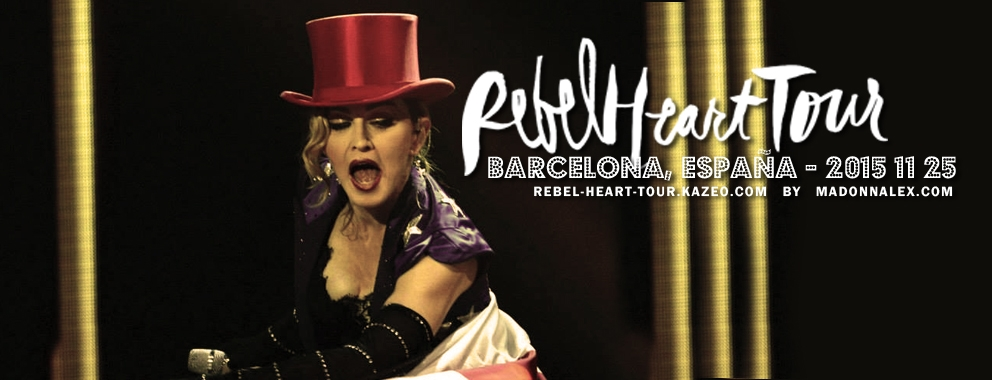 Madonna Rebel Heart Tour Barcelona 2