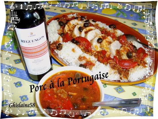 Porc à la Portugaise