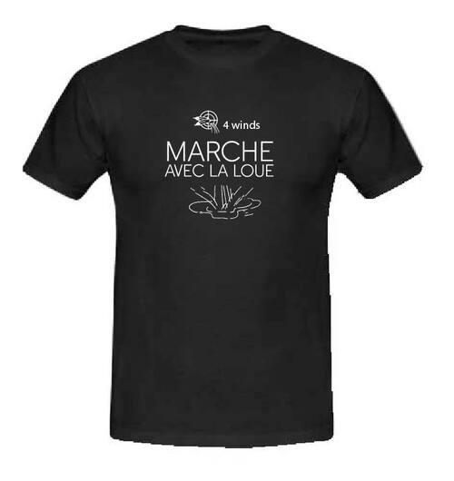 """""""MARCHE AVEC LA LOUE"""" L'eau c'est la vie."""