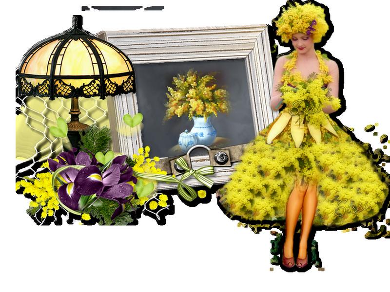 * Mimosa * Atelier de Babouchka *