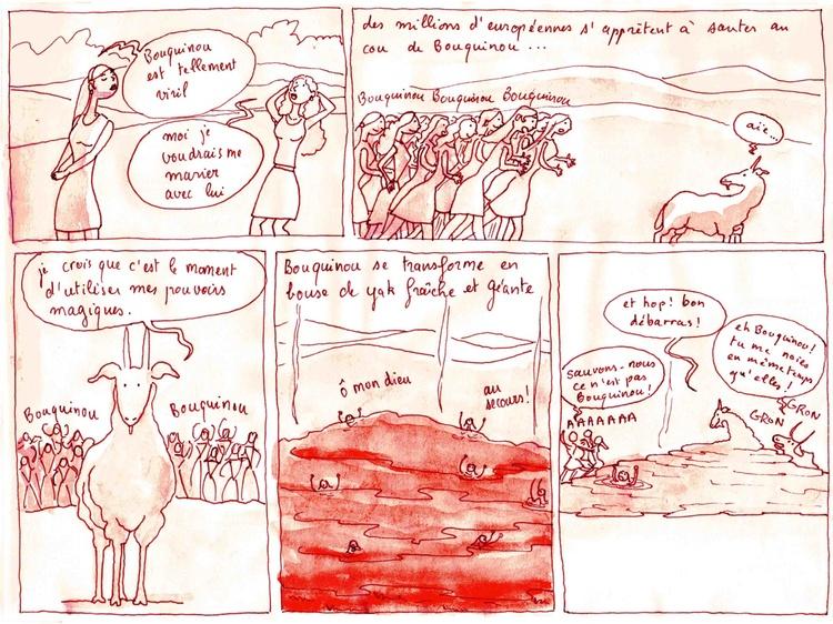 Les Aventures de Bouquinou le Chevreau mongol