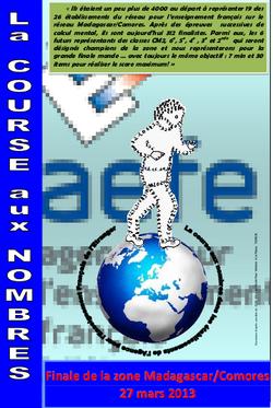 Course aux nombres 2012-2013