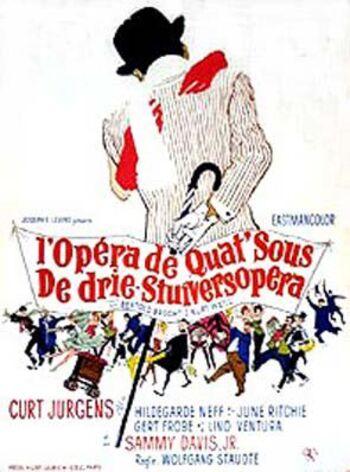 L' OPERA DE QUAT'SOU - BOX OFFICE LINO VENTURA 1968