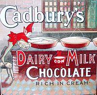 Cadbury et le chocolat