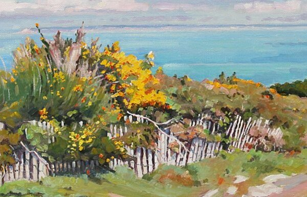 Peinture de : Henri Le Goff