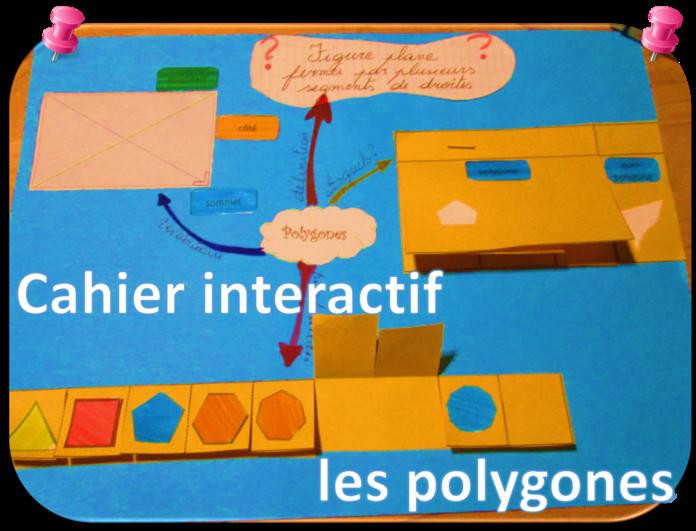 Cahier interactif sur les polygones