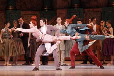 dance ballet class cinderella