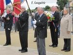 Cérémonie du 8 mai 2012, à Gouesnac'h