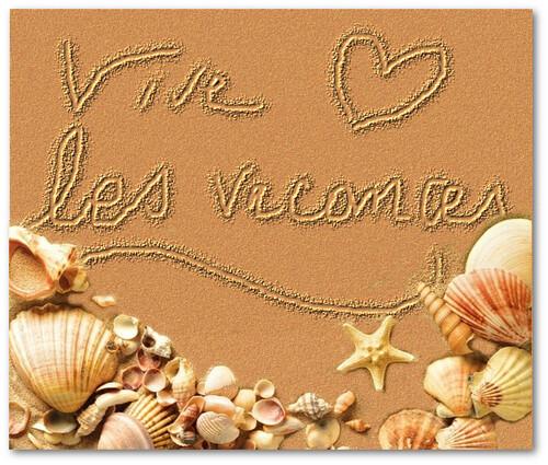 VIVE LES VACANCES dans le sable