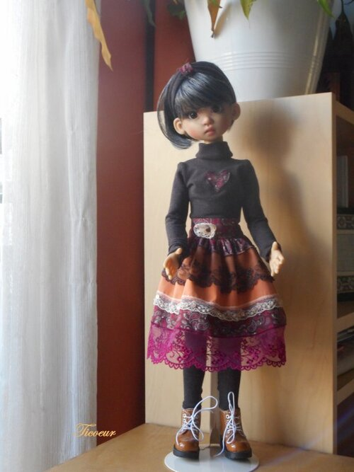 Marichka a sa nouvelle tenue