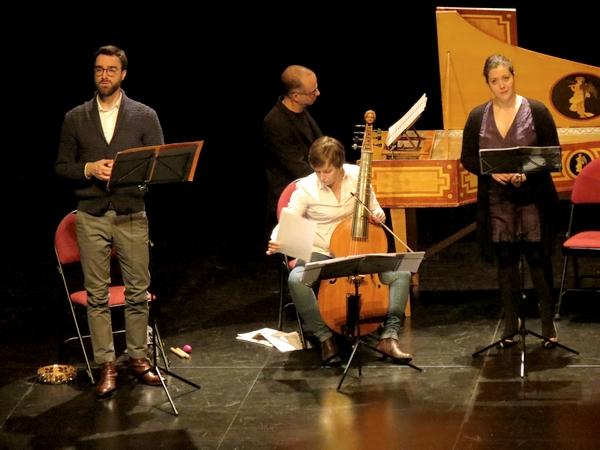 """""""Les nouvelles métamorphoses"""" la superbe alliance de la musique  baroque et de la comédie, au Théâtre Gaston Bernard de Châtillon sur Seine"""