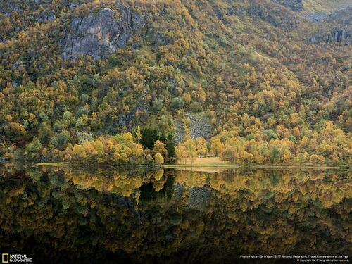 22. Tengelfjord, Norvège
