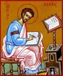 Saint Apôtre et Evangéliste LUC - Le Monde Orthodoxe