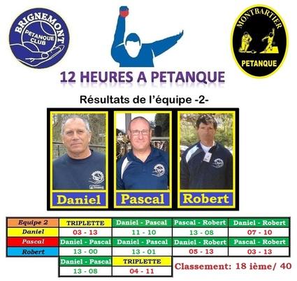 Les 12 hrs à Pétanque de Montbartier 2019