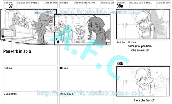 Angel's Friends Storyboard part.1