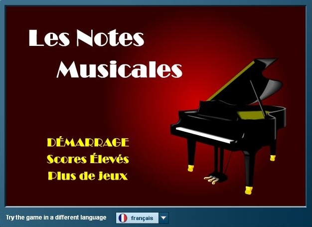 Les notes musicales