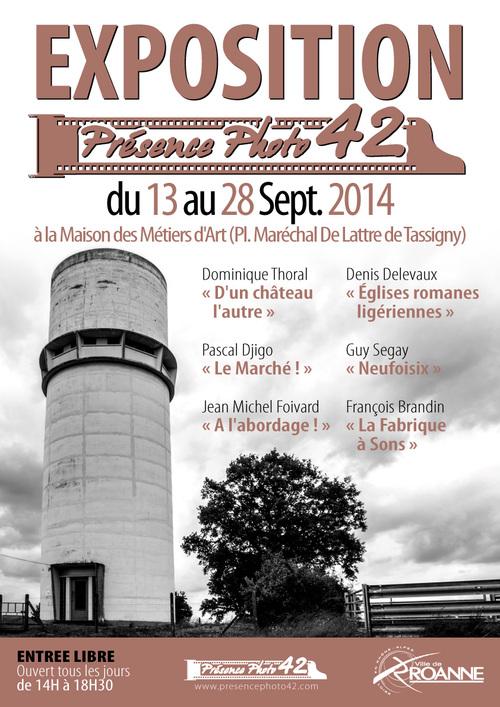 A ROANNE, MAISON DES METIERS D'ART DU 13 AU 28 NOVEMBRE 2014