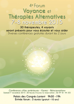 FORUM VOYANCE ET THERAPIES ALTERNATIVES A LORIENT