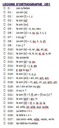 Dictées, leçons, exercices d'orthographe (2ème partie) - le stylo de vero