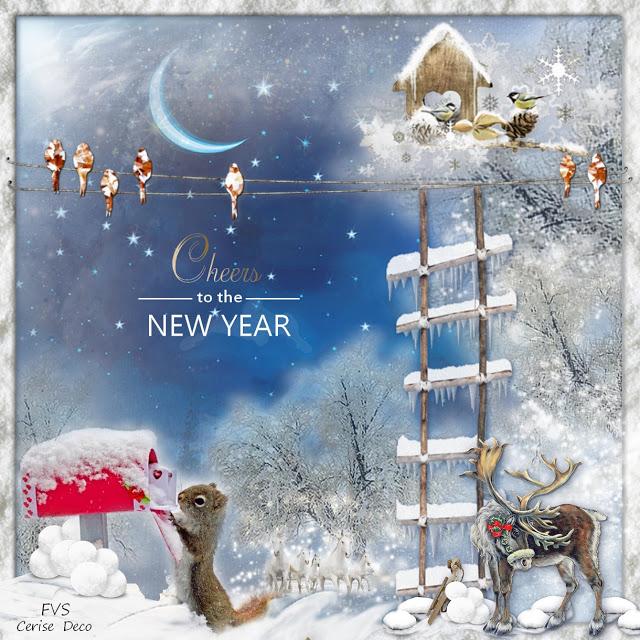 vos créations5 avec le cluster janvier sous la neige