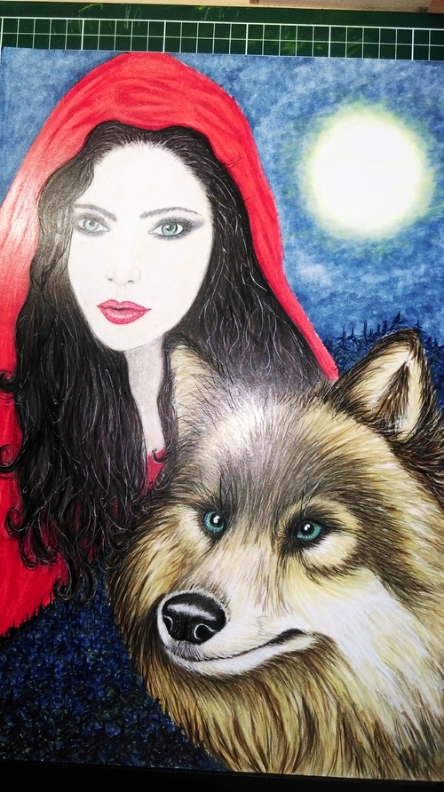 "Chaperon rouge version ""Once upon a time"""