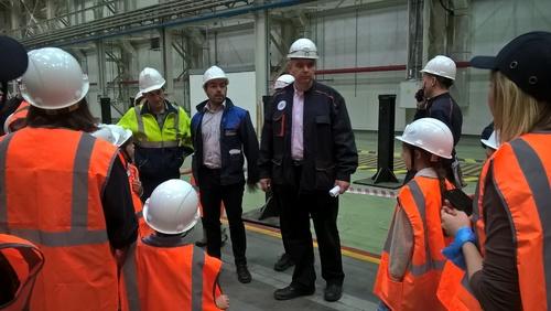 Visite de l'usine ALSTOM-EKZ