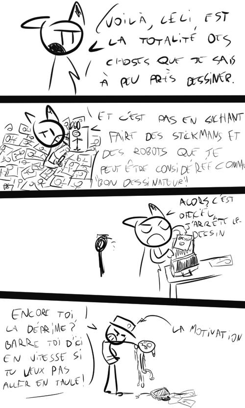 Foxbot VS Dessin
