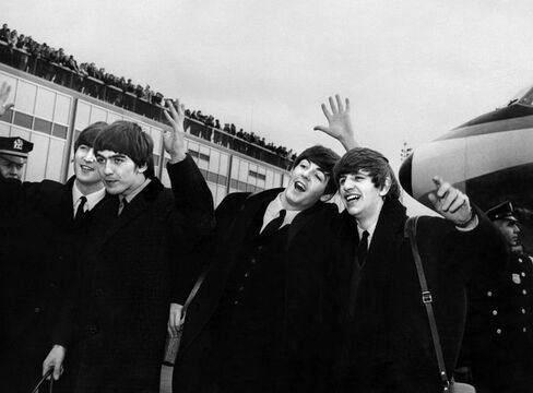 Les Beatles en 1964