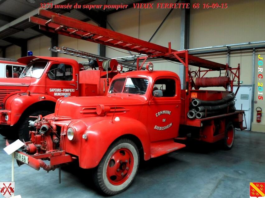 Musée du Sapeur Pompier d'ALSACE  2/4  24/26   VIEUX FERRETTE  68   D 14-09-2016