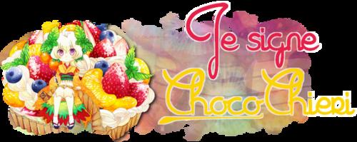 Pour le concours de Choco-Chieri