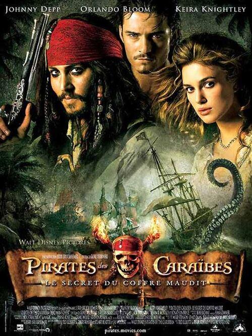 """Bonsoir a l'honneur : """" Pirates des Caraïbes : le Secret du Coffre Maudit """""""