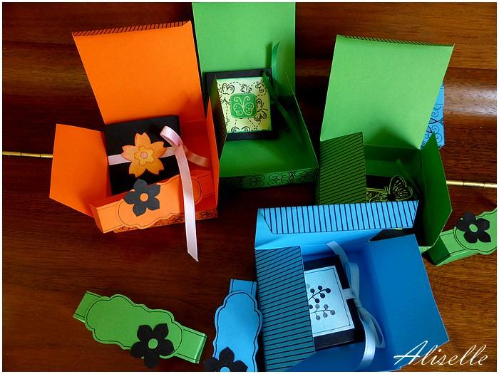 Mini minis et leurs boîtes...