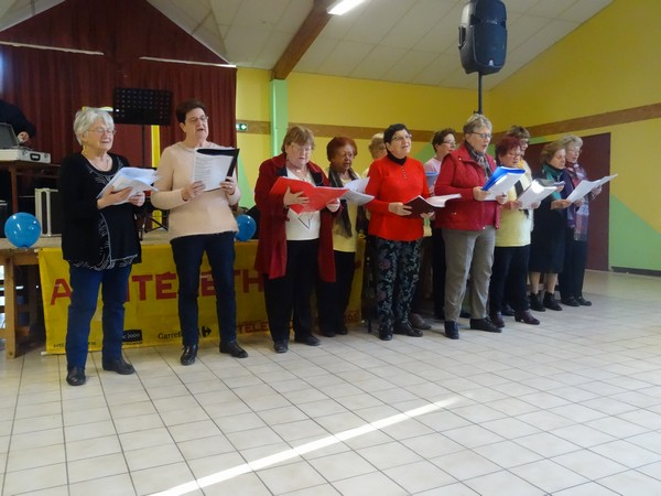 """Un beau """"défi musical"""" a eu lieu à Laignes pour le Téléthon"""