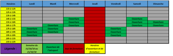 Planning OFFICIEL [AHA] & [GHA]