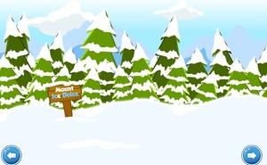 Jouer à Toon Escape - Ice rink