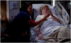 Grey's Anatomy 8x08 Heart-Shaped Box  8x09 Dark Was The Night